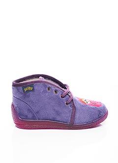 Chaussons/Pantoufles violet BELLAMY pour fille