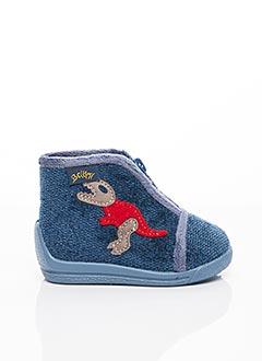 Chaussons/Pantoufles bleu BELLAMY pour garçon