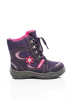Bottes violet SUPER FIT pour fille