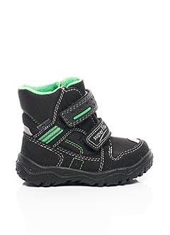 Bottines/Boots noir SUPER FIT pour garçon