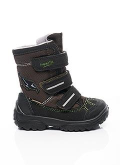 Bottines/Boots vert SUPER FIT pour garçon