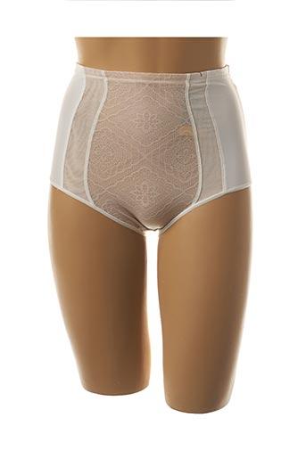 Culotte gainante beige WONDERBRA pour femme