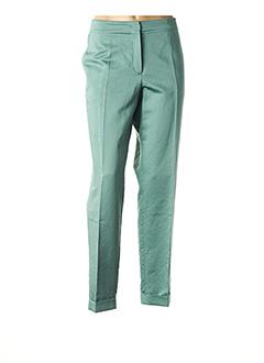 Pantalon 7/8 vert DANIEL HECHTER pour femme
