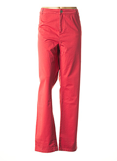 Pantalon casual orange FRED SABATIER pour femme