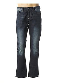 Jeans coupe droite bleu CHEVIGNON pour homme