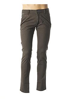 Pantalon casual marron MCS pour homme