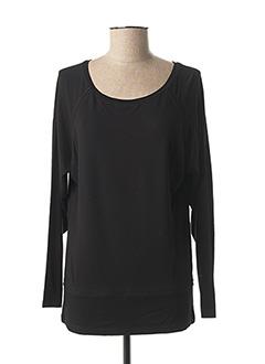 T-shirt manches longues noir ZAPA pour femme