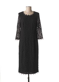Robe mi-longue noir BASLER pour femme
