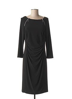 Robe mi-longue noir JOSEPH RIBKOFF pour femme