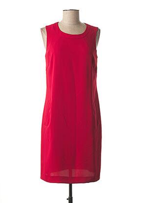 Robe mi-longue rouge DANIEL HECHTER pour femme