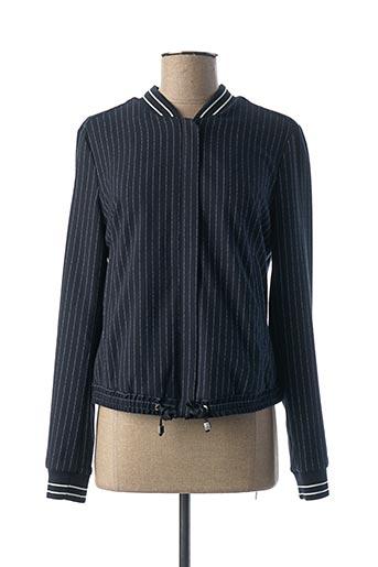 Veste casual bleu COMMA, pour femme