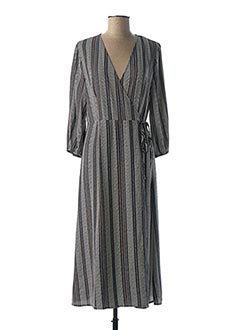 Robe mi-longue bleu VERO MODA pour femme