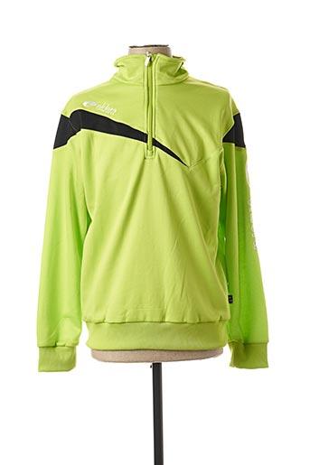 Sweat-shirt vert ELDERA pour homme