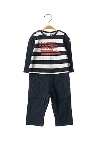 Combi-pantalon bleu NANO & NANETTE pour garçon