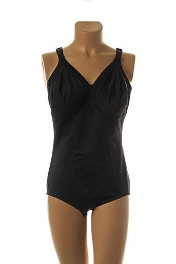 Body lingerie noir TRIUMPH pour femme