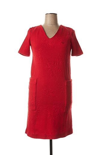 Robe mi-longue rouge ARMANI pour femme
