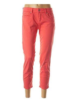 Pantalon 7/8 rouge FIVE pour femme