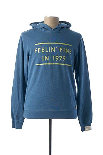 Sweat-shirt bleu SCOTCH & SODA pour homme