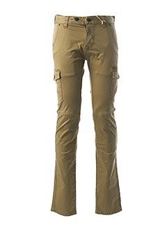 Pantalon casual vert FREEMAN T.PORTER pour homme
