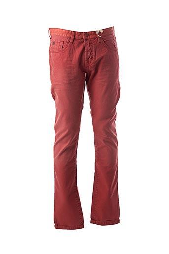 Jeans coupe slim rouge SCOTCH & SODA pour homme