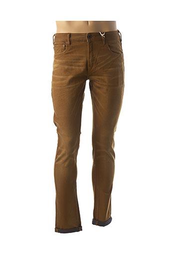 Jeans skinny marron SCOTCH & SODA pour homme