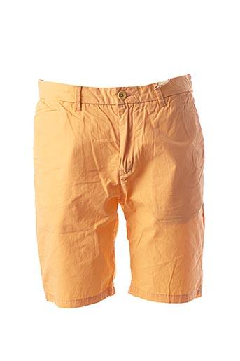 Short orange SCOTCH & SODA pour homme