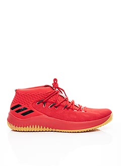 Baskets rouge ADIDAS pour homme