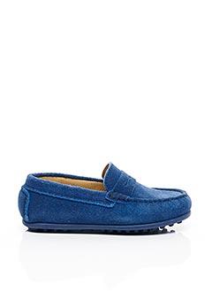 Chaussures bâteau bleu MERCREDI APRÈS-MIDI pour garçon