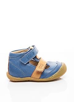 Bottines/Boots bleu MOD 8 pour garçon