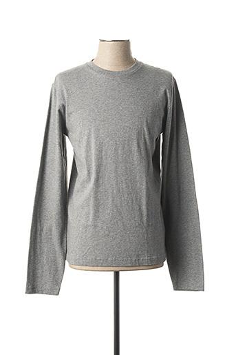 T-shirt manches longues gris R95TH pour homme
