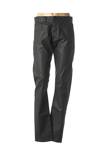 Pantalon chic noir FREEMAN T.PORTER pour femme