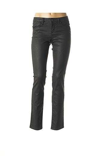 Pantalon chic noir KANOPE pour femme