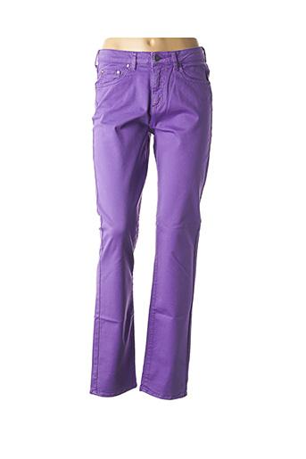 Pantalon casual violet KANOPE pour femme