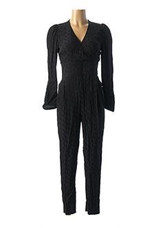 Combi-pantalon noir IDANO pour femme