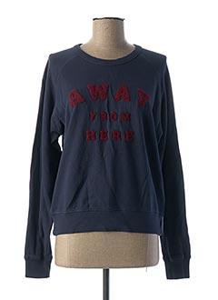 Sweat-shirt bleu REIKO pour femme