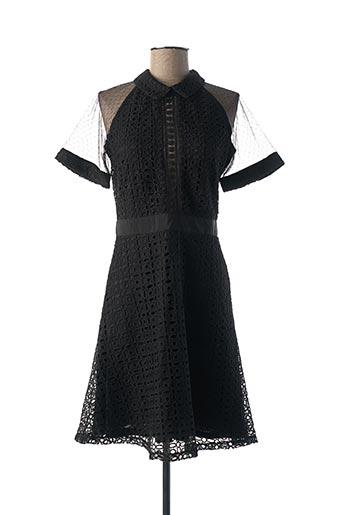 Robe mi-longue noir BRIGITTE BARDOT pour femme