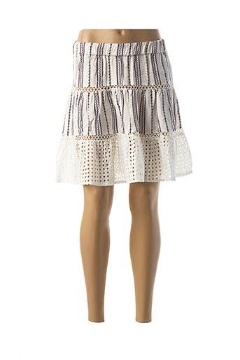Jupe courte blanc BRIGITTE BARDOT pour femme
