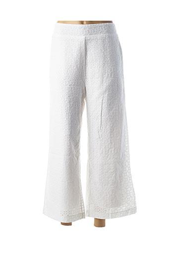 Pantalon 7/8 blanc BRIGITTE BARDOT pour femme