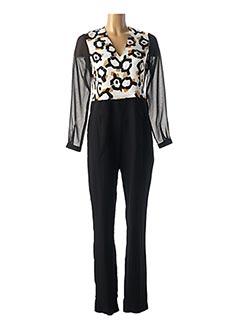 Combi-pantalon noir BLEU BLANC ROUGE pour femme