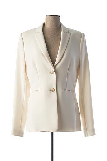 Veste chic / Blazer beige OUI pour femme