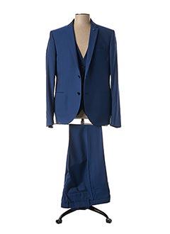 Veste/pantalon bleu MANUEL RITZ pour homme