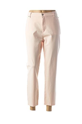 Pantalon 7/8 rose MARBLE pour femme