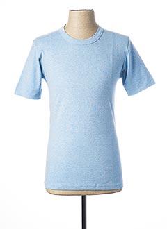 T-shirt manches courtes bleu ARMOR LUX pour homme