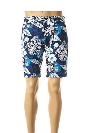 Bermuda bleu CARNET DE VOL pour homme