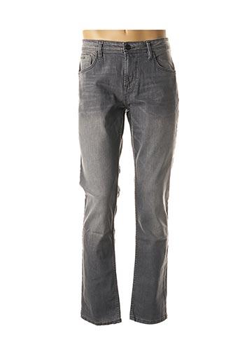 Jeans skinny gris TOM TAILOR pour homme