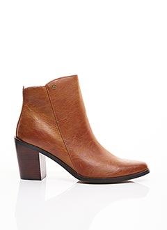 Bottines/Boots marron CHATTAWAK pour femme