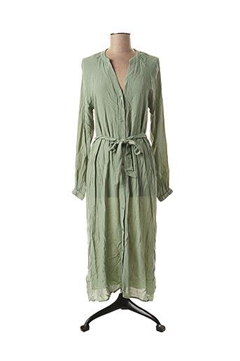 Robe longue vert YAYA pour femme