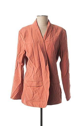 Veste casual orange YAYA pour femme