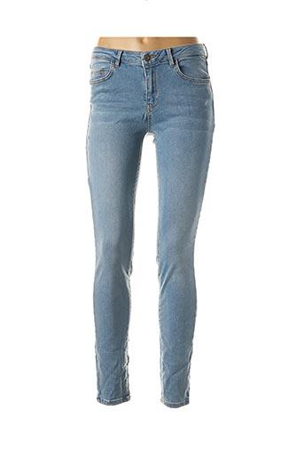 Jeans skinny bleu YAYA pour femme