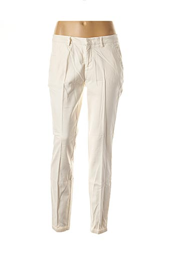 Pantalon chic beige YAYA pour femme